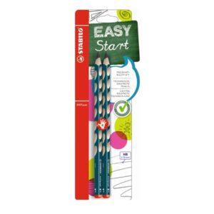 STABILO harilik pliiats, EASYgraph, HB, 2 tk, paremakäelisele 1/1