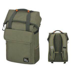 Herlitz koolikott-seljakott be.bag be.flexible, 25-30 l / Olive 1/1