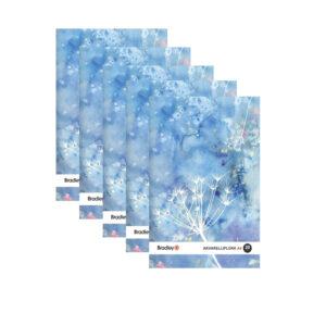 Joonistusplokk A4, 20 lehte, 210g akvarellile, 5 tükki pakis 1/1