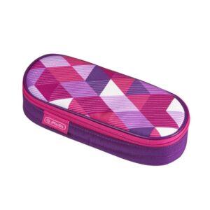 Herlitz pinal, kaanega - Pink Cubes 1/1
