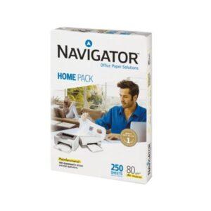 Koopiapaber A4 80g Navigator Home 250 lehte pakis 1/1