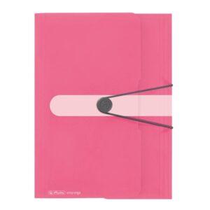 Kummiga kaaned A4 Color Block indon.roosa 1/1