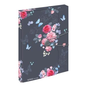 Kummiga kaaned A4 pl. 4cm Ladylike Flowers 1/1