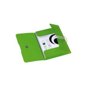 Kummiga kaaned A4 pl. Easy Orga roheline 1/1