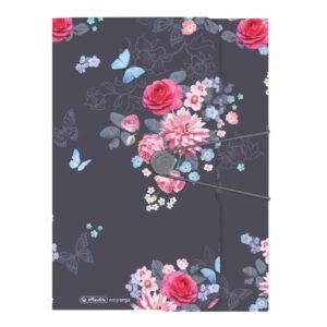 Kummiga kaaned A4 pl. Ladylike Flowers 1/1