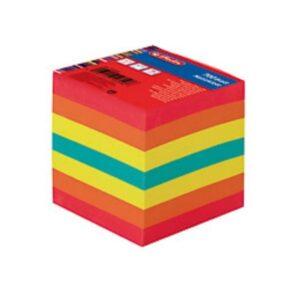 Märkmekuup 9x9x9cm värviline 700 lehte 1/1