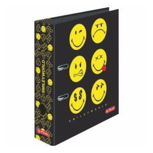 Registraator 8cm Smiley Black 1/1