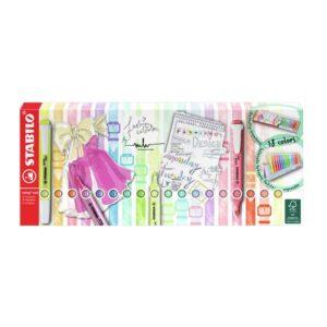 STABILO tekstimarker, swing cool, 8 neooni + 10 pastelset 1/1
