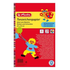 Värviline paber 33x23/20l 120g Herlitz 1/1