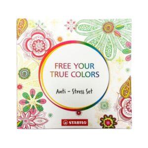 "STABILO värvimisraamat ""Free Your Own Colors"" 1/1"